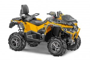 STELS GUEPARD Trophy PRO-EPS 850i V-Twin. Made in Russia